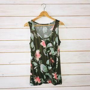 New York & Company XS sleeveless blouse nursing